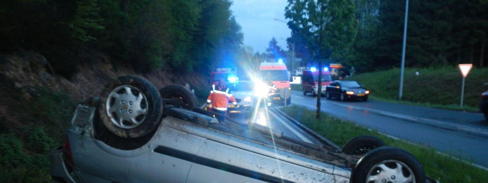 Der Unfall ereignete sich auf der N7 zwischen Huldingen und Wemperhardt.