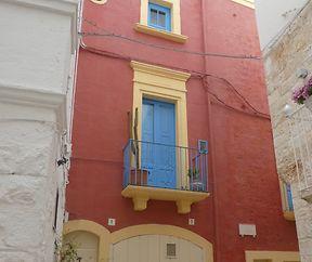Fassaden in Apulien