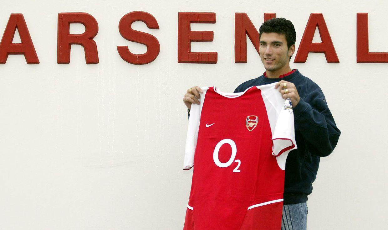 O espanhol alinhou pelos ingleses do Arsenal entre 2004 e 2007.