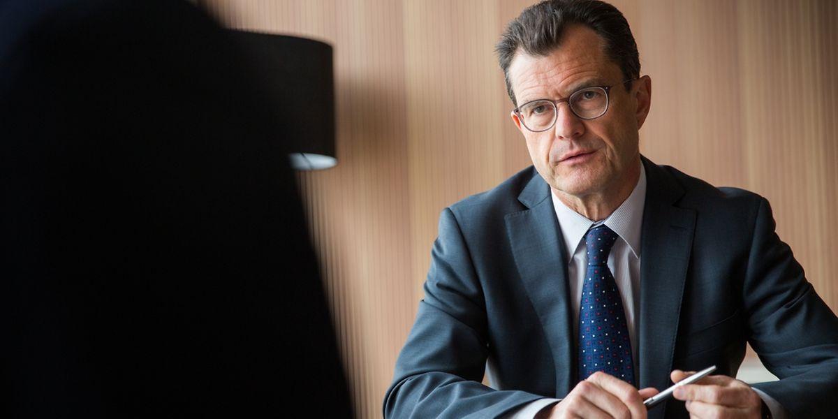 ITV Olivier Maréchal vun EY (classement des banques), Foto Lex Kleren