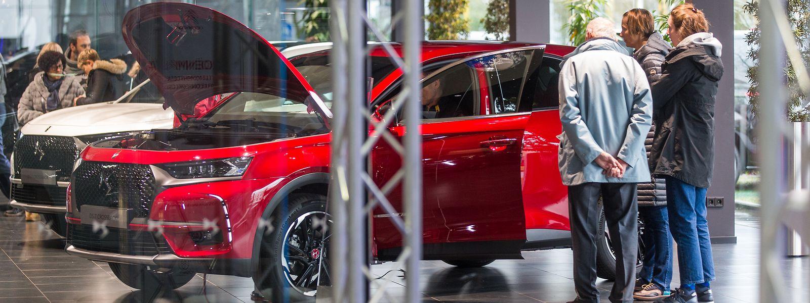 En moyenne, près de 30% des commandes de voitures ont lieu en février-mars au Luxembourg.
