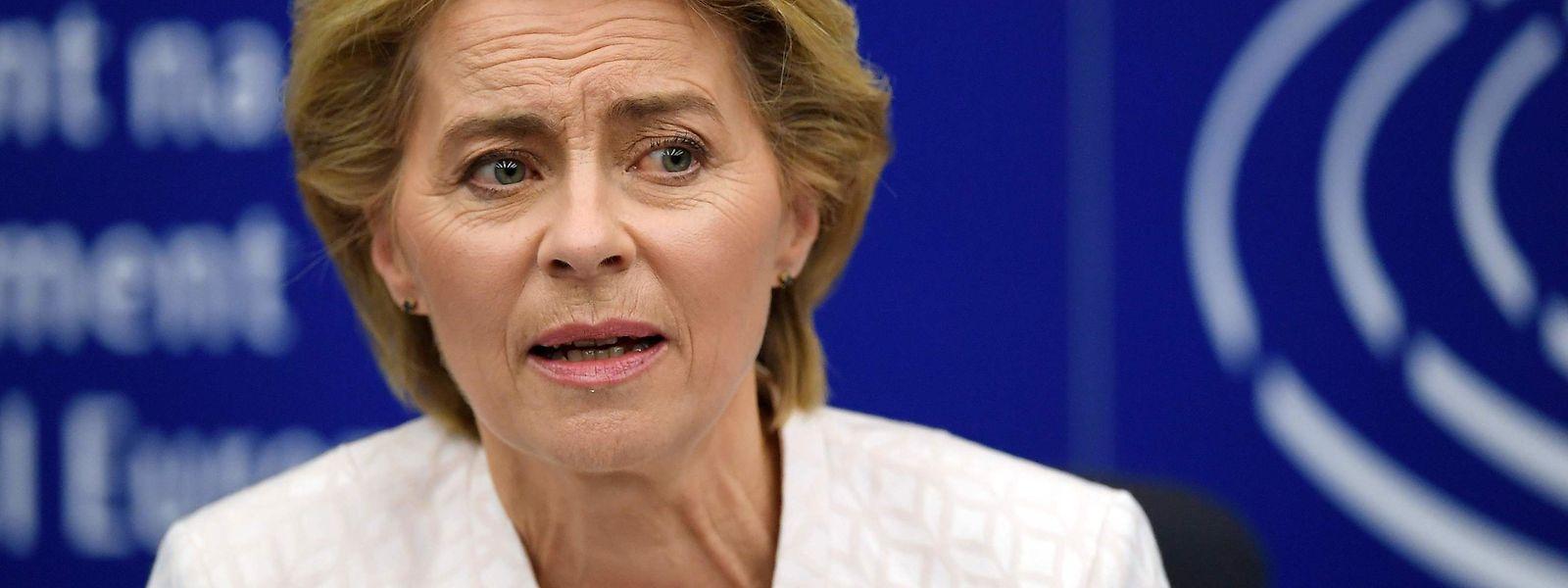Ursula von der Leyen tritt am 1. November ihr Amt als EU-Kommissionspräsidentin an.