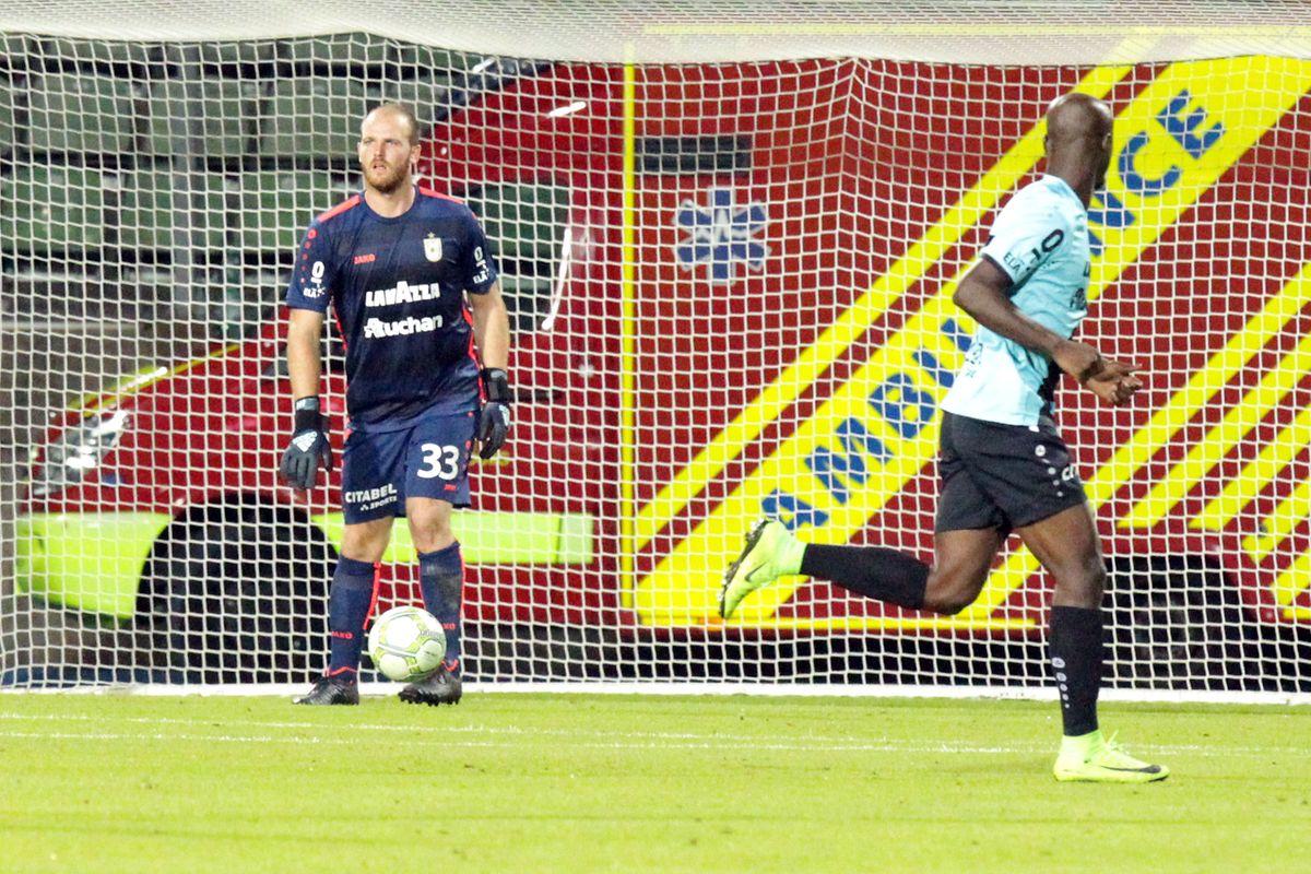Joe Frising ist eigentlich der Ersatztorhüter Düdelingens. Am Donnerstag wurde er für Jonathan Joubert eingewechselt.