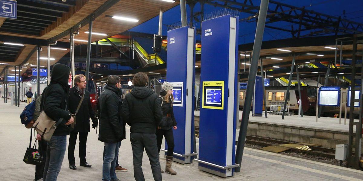Pagaille ce vendredi en gare de Luxembourg