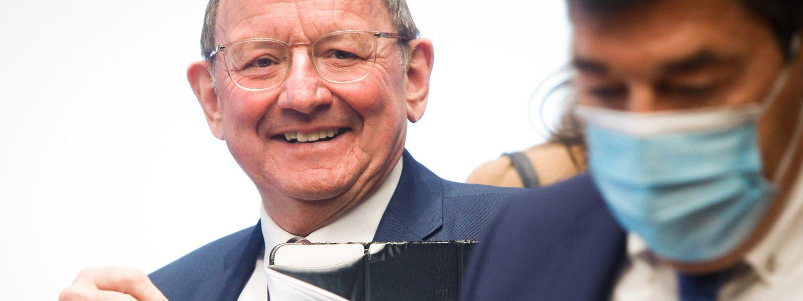 Parlamentspräsident Fernand Etgen blickt auf ein arbeitsreiches parlamentarisches Jahr zurück.