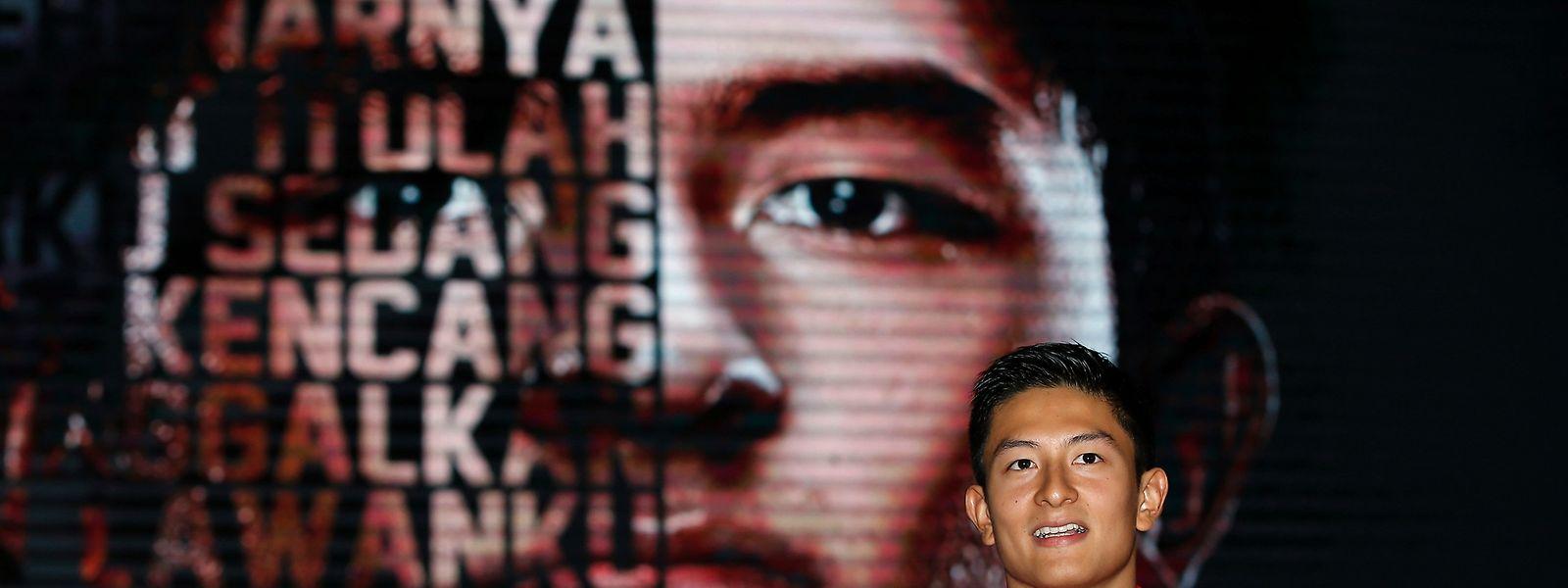 Rio Haryanto wurde am Donnerstag von Manor vorgestellt.