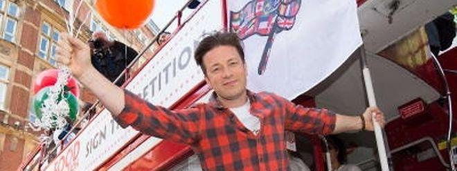Hat kein Problem mit dem Älterwerden - im Gegenteil: Jamie Oliver