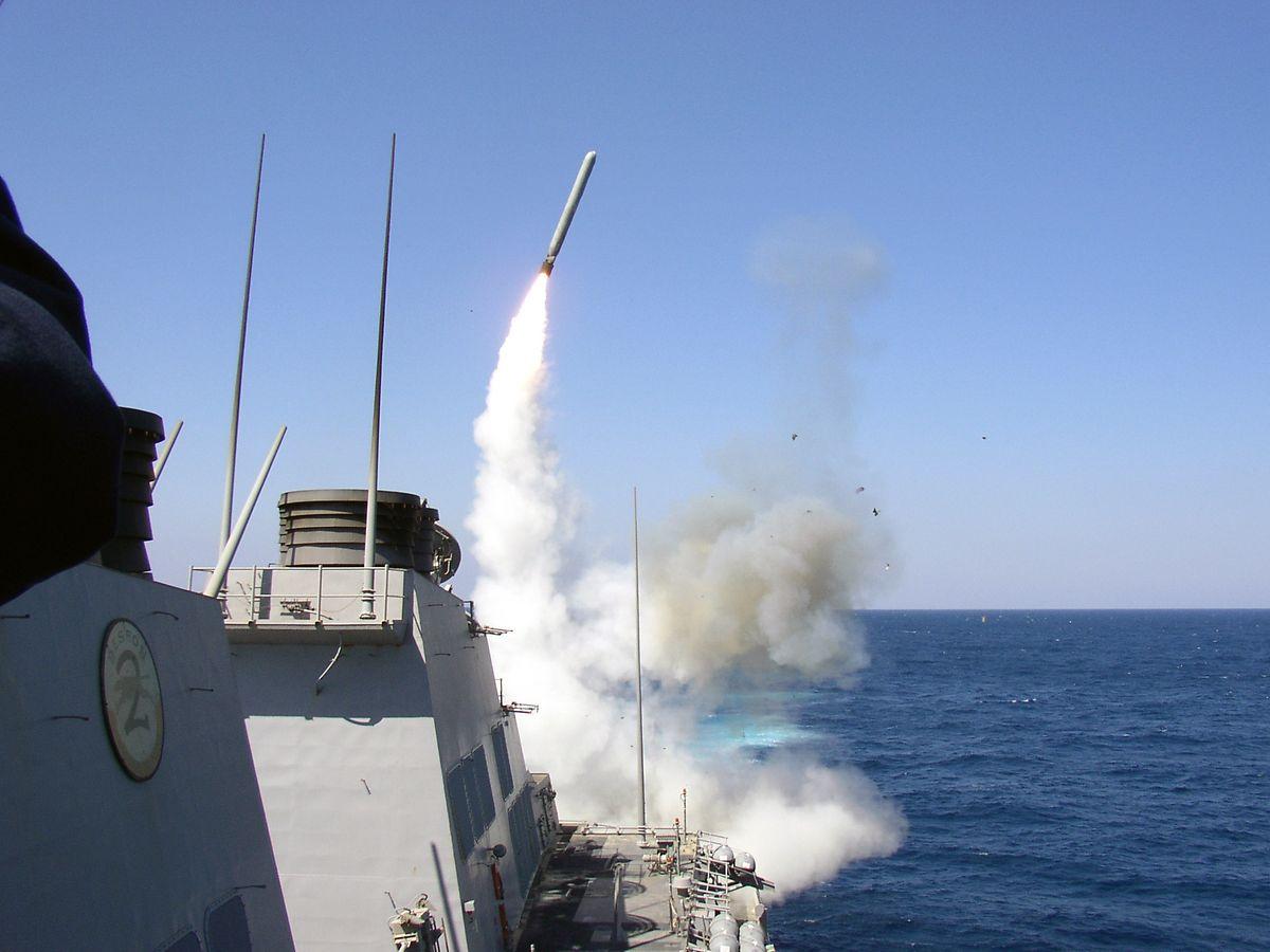 Insgesamt seien 59 Tomahawk-Raketen abgefeuert worden, so das Pentagon.