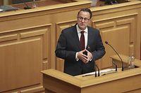 IPO,Rede zur Lage der Nation,Rentree parlementaire,Etat de la Nation. Foto: Gerry Huberty/Luxemburger Wort