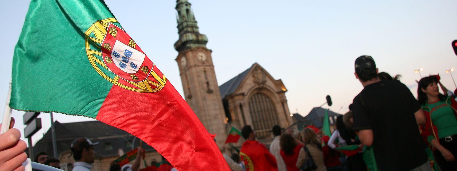 Die Zahl der Portugiesen im Land ist gegenüber 2017 leicht gesunken.