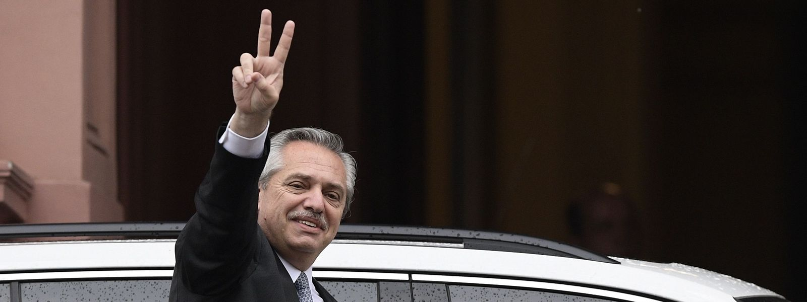 Der designierte neue Präsident von Argentinien: Alberto Fernández.
