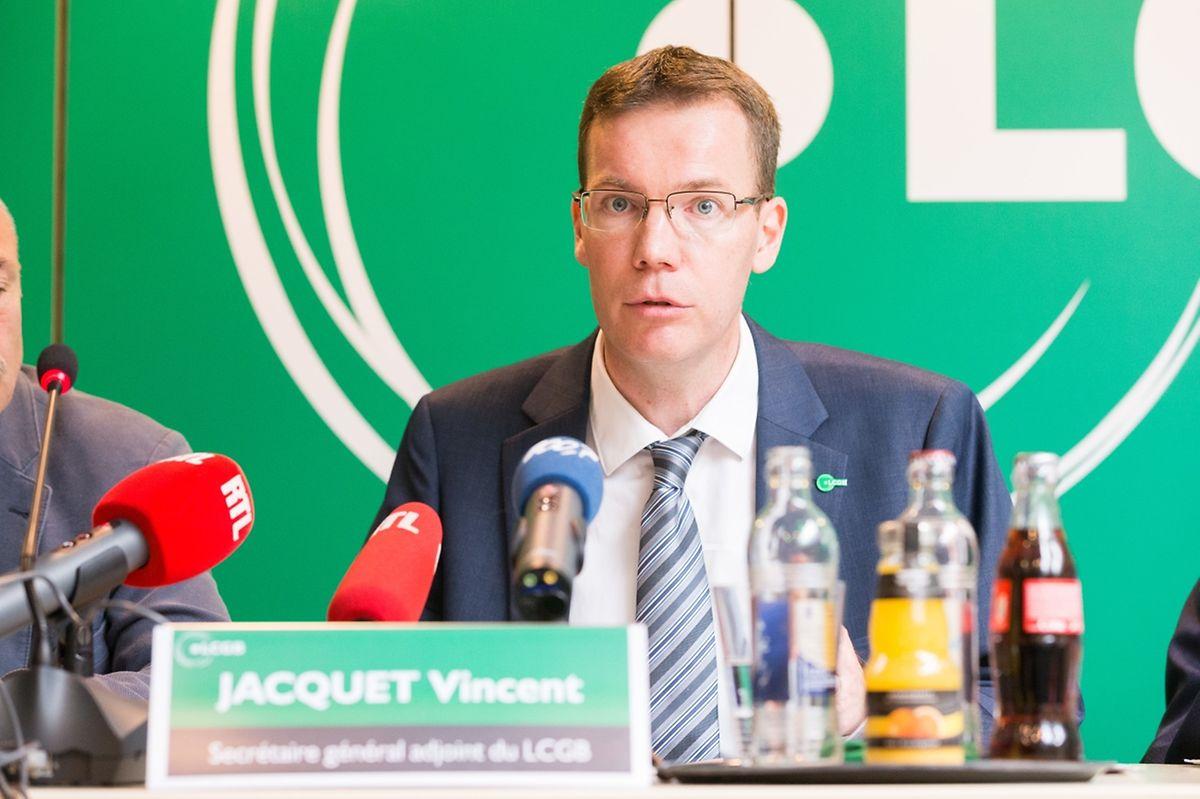 Vincent Jacquet, Stellvertretender Generalsekretär des LCGB