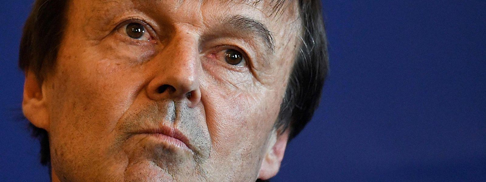 Nicolas Hulot kündigte am Dienstag seinen Rücktritt an.