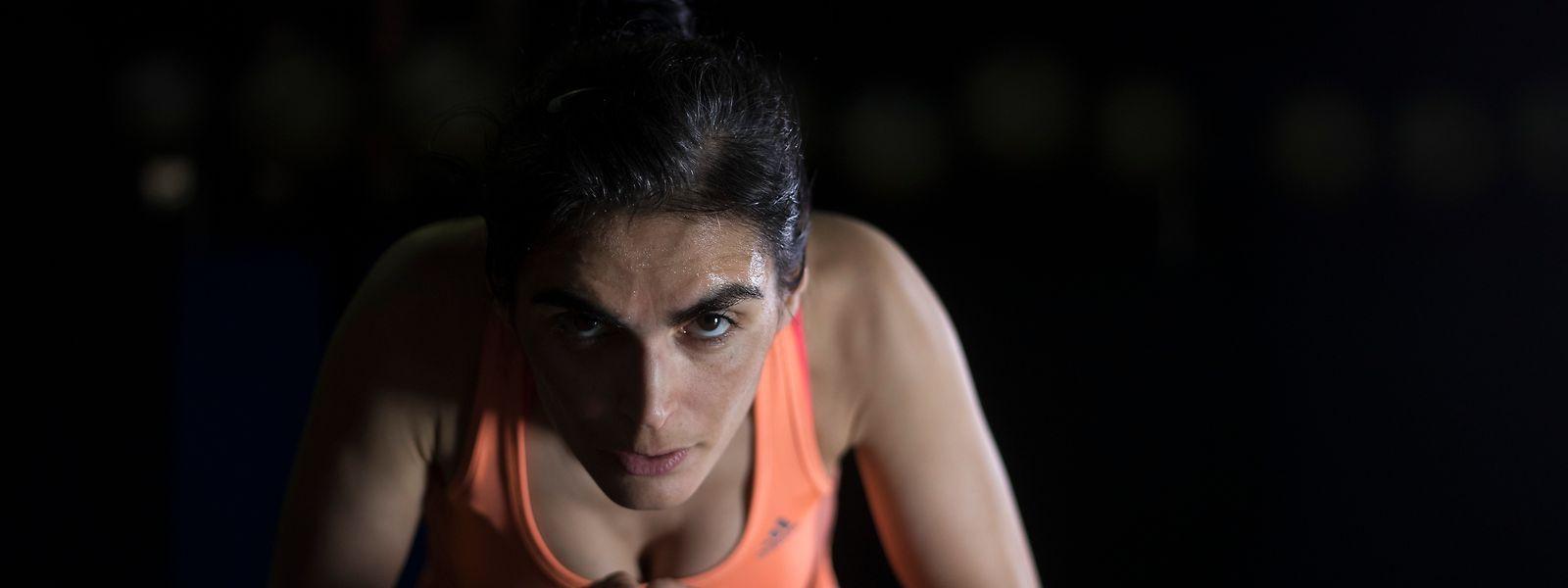 Tânia Morais treina no duro para manter a forma física ao mais alto nível