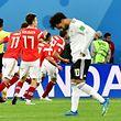 Mohamed Salah tête basse, les Russes ont validé leur ticket pour les huitièmes de finale après leur succès sur l'Egypte 3-1.