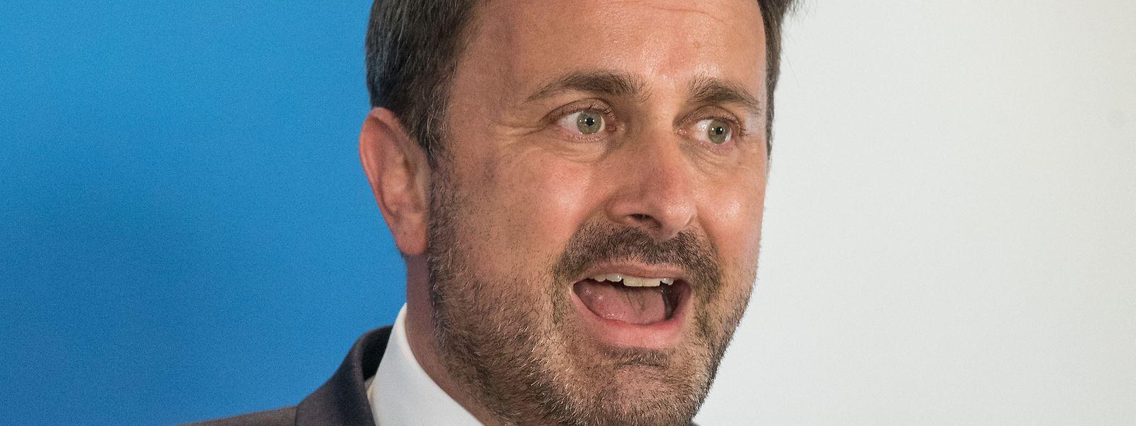 Xavier Bettel se prive de tout commentaire sur la stratégie commerciale du groupe média pour lequel l'Etat luxembourgeois octroie, pourtant, plusieurs millions d'euros chaque année.