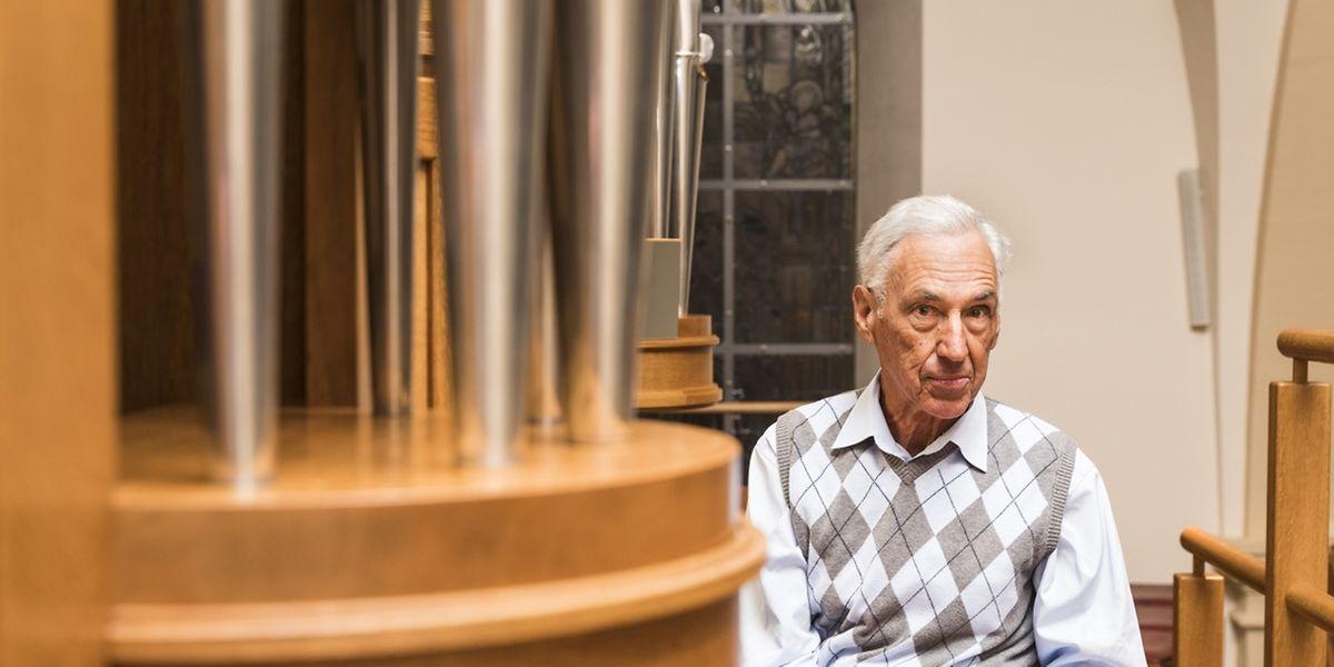 Der Organist soll die Kirchengemeinde unterstützen, nicht, sie mit seinem Spiel übertrumpfen, so Organist Edy Lux.
