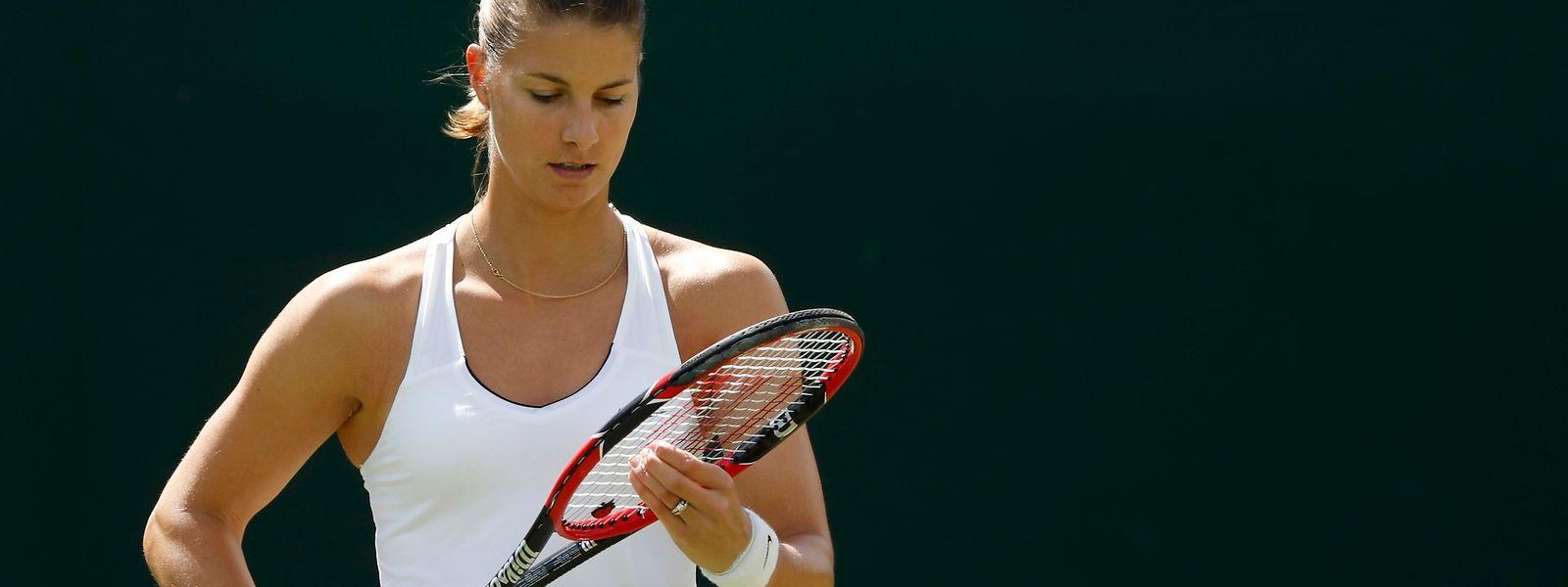 Mandy Minella darf gleich zum Auftakt auf dem Centre Court ran.
