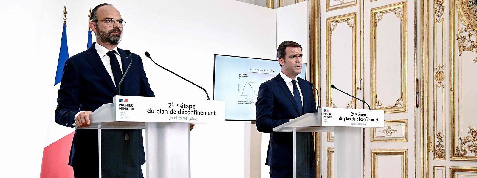 Enfin des bonnes nouvelles à annoncer pour le Premier ministre français, et Olivier Véran le ministre de la Santé.