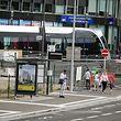 Nei Bushaltestelle op der Staerplatz - Photo : Pierre Matgé