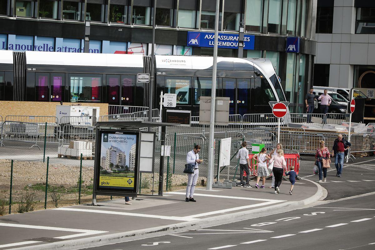 A nova estação intermodal da Place de l'Étoile vai ajudar a revolucionar a circulação dos autocarros na capital.