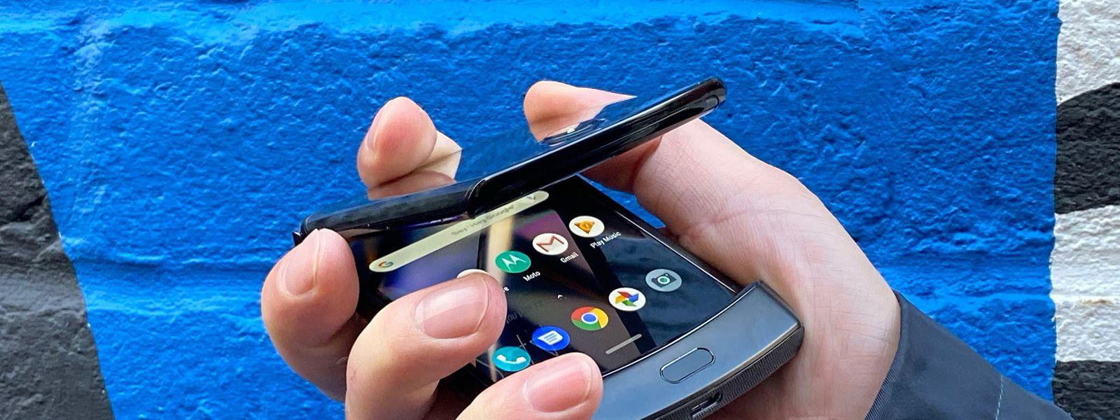 Klapphandy vor der Wiederauferstehung: Motorola will im ersten Quartal 2020 sein Smartphone Razr wieder auf den Markt bringen.