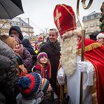 São Nicolau vem hoje à capital do Luxemburgo