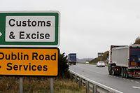 Sollte Großbritannien ohne Abkommen aus der EU ausscheiden, könnten für irische Exporte dorthin erhebliche Zölle anfallen.