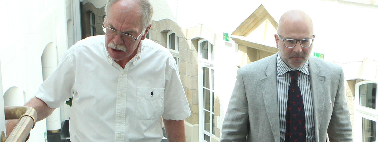 Zweimal Heck: Vater Jean-Paul und Sohn Patrick.