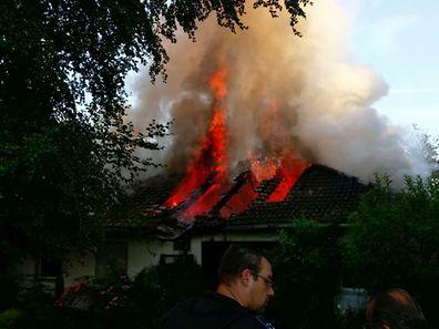 Am Sonntagmorgen kam es zu einem Hausbrand in Bauschleiden.