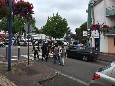 A priest was killed by two attackers in a church near Rouen