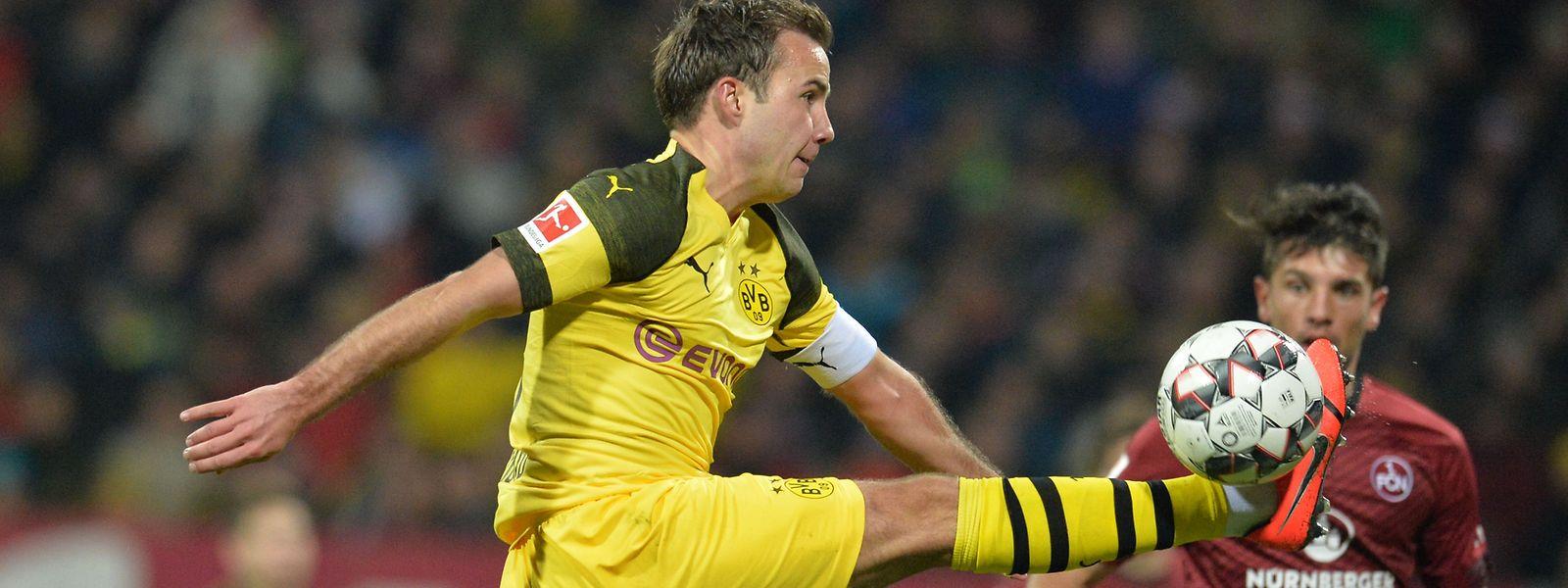 Auch Mario Götze konnte die Dortmunder nicht zum Sieg führen.