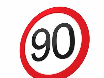 Motorway speed limit reduced to 90km/h due to pollution