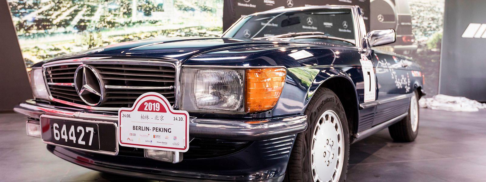 Der 30 Jahre alte Mercedes 300 SL wurde generalüberholt und ist in einem Topzustand.