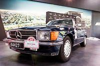 "Rencontre de presse du ""New Silk Road Rallye"" / Présentation équipe Luxembourgoise participant au Rallye/  Merbag/ Mercedes 300SL/ Foto : Caroline Martin"