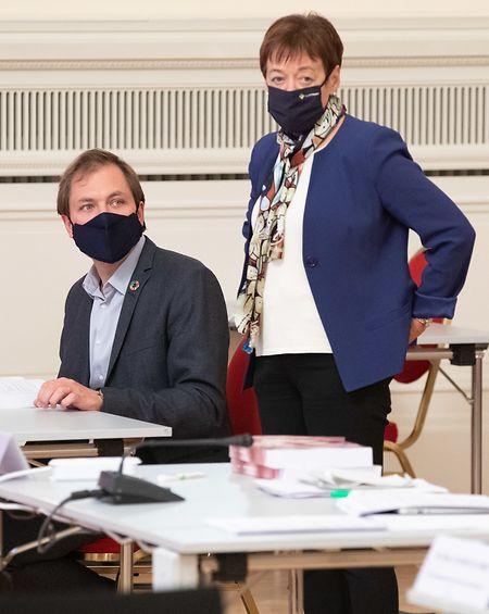 Josée Lorsché, déi Gréng.