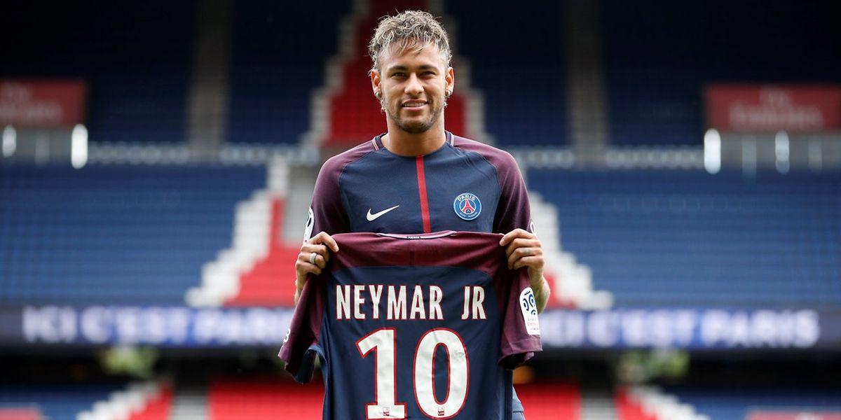 Neymar Jr quer