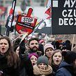 Die Zahl der Protestierenden wurde auf 55 000 geschätzt.