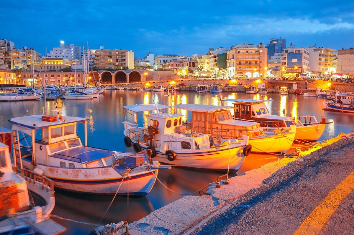Heraklion's old harbour