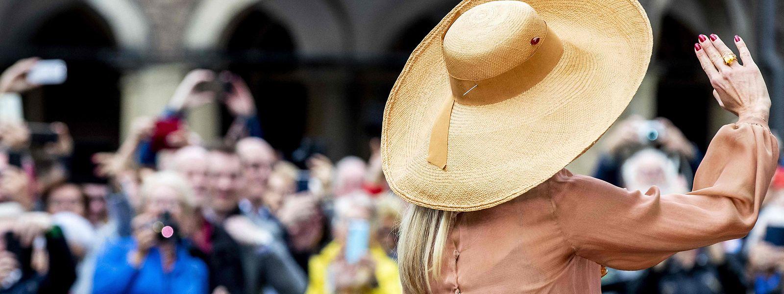 Königin Máxima zählte zu den wohl prominentesten Gratulanten der Niederlande.
