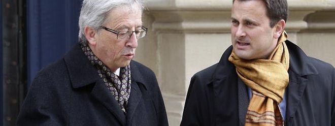 Am Donnerstagmorgen sprach Bettel mit dem Noch-Premier Juncker.