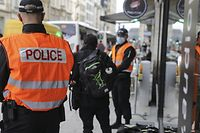 Lokales,Mit der Polizei auf Patrouille,Police,Bahnhofsviertel,Sicherheit Polizeipräsenz.Foto: Gerry Huberty/luxemburger Wort