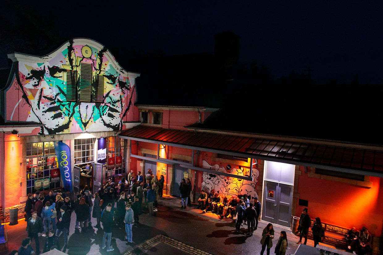 Das 'Out of the crowd festival 2019' in der Kulturfabrik in Esch/Alzette.