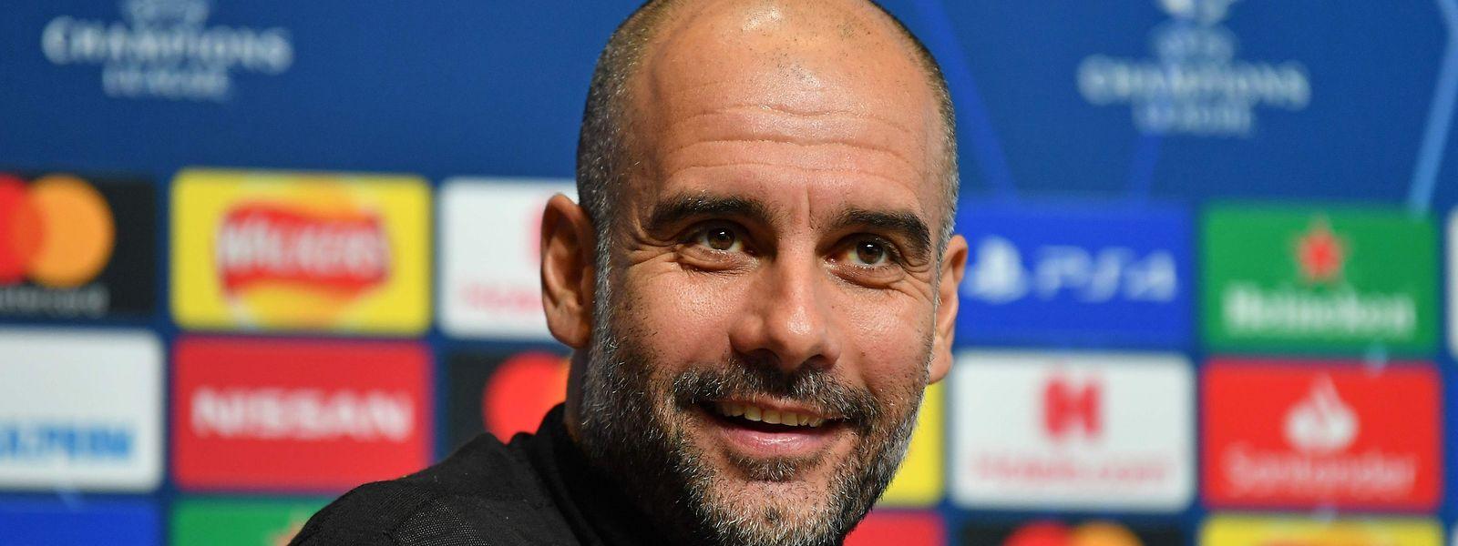 Pep Guardiola a retrouvé le sourire. City jouera la Ligue des champions la saison prochaine.