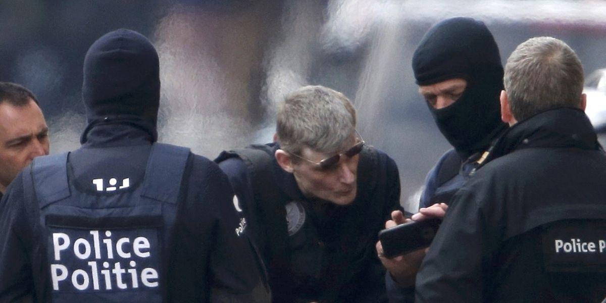 Spezialeinsatzkräfte sollen einen Verdächtigen festgenommen haben.