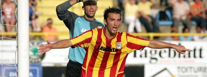 Loic Mouny a porté durant 9 ans le maillot dudelangeois avant de rejoindre le RFCUL et Rodange.