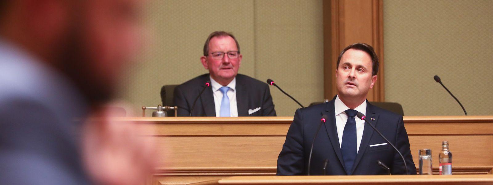 Premierminister Xavier Bettel legte die Schwerpunkte seiner Regierungserklärung auf die Themen Klimaschutz, Brexit, Finanzen und Datenschutz.