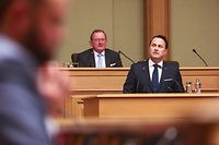IPO,Rede Lage der Nation.Chambre des Députées,Xavier Bettel,Foto: Gerry Huberty/Luxemburger Wort