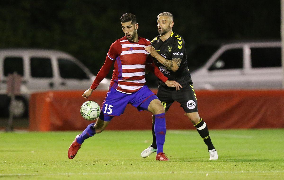 Samir Hadji (l., hier gegen Mario Mutsch) erzielte das 2:0.