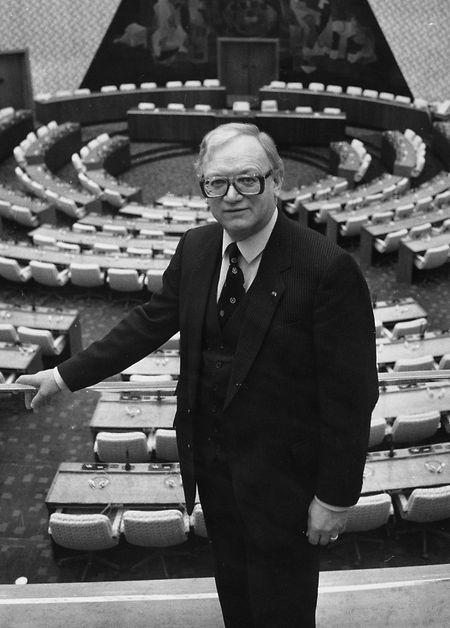 Nic Estgen wurde zweimal zum Vizepräsidenten des EU-Parlaments  gewählt.